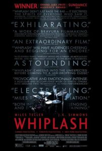 Cartel de la pelicula whiplash