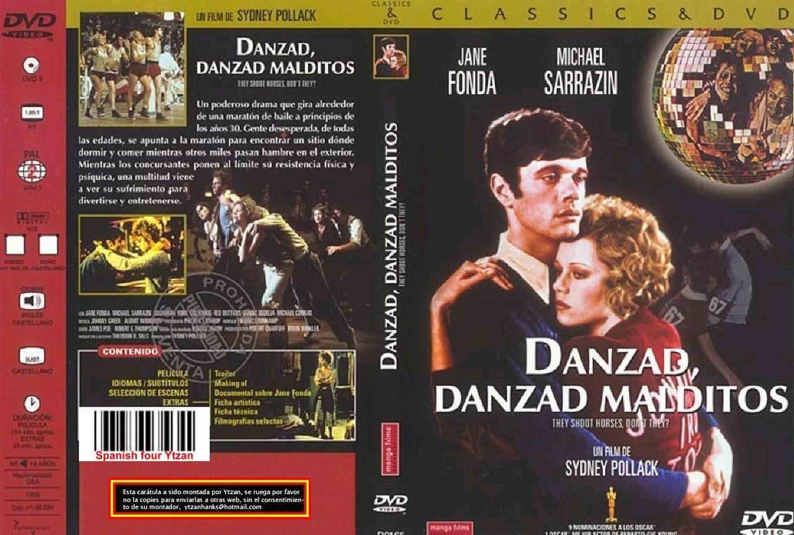 Crátula de Danzad, danzad, malditos