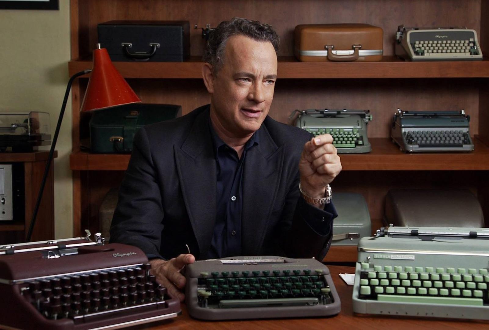 Tom Hanks y sus máquinas de escribir