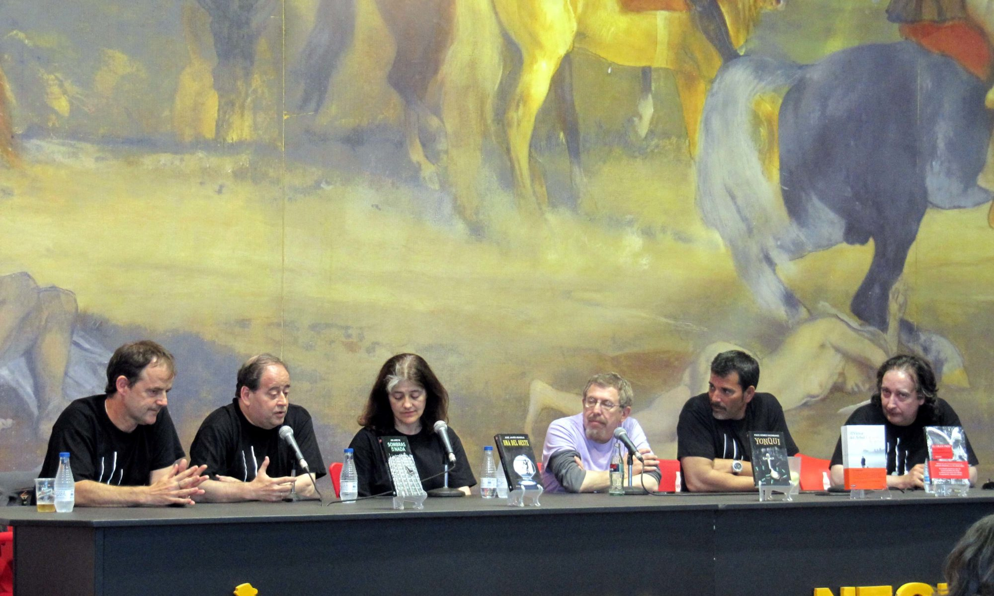 Victor del Arbol participado en La Semana Negra