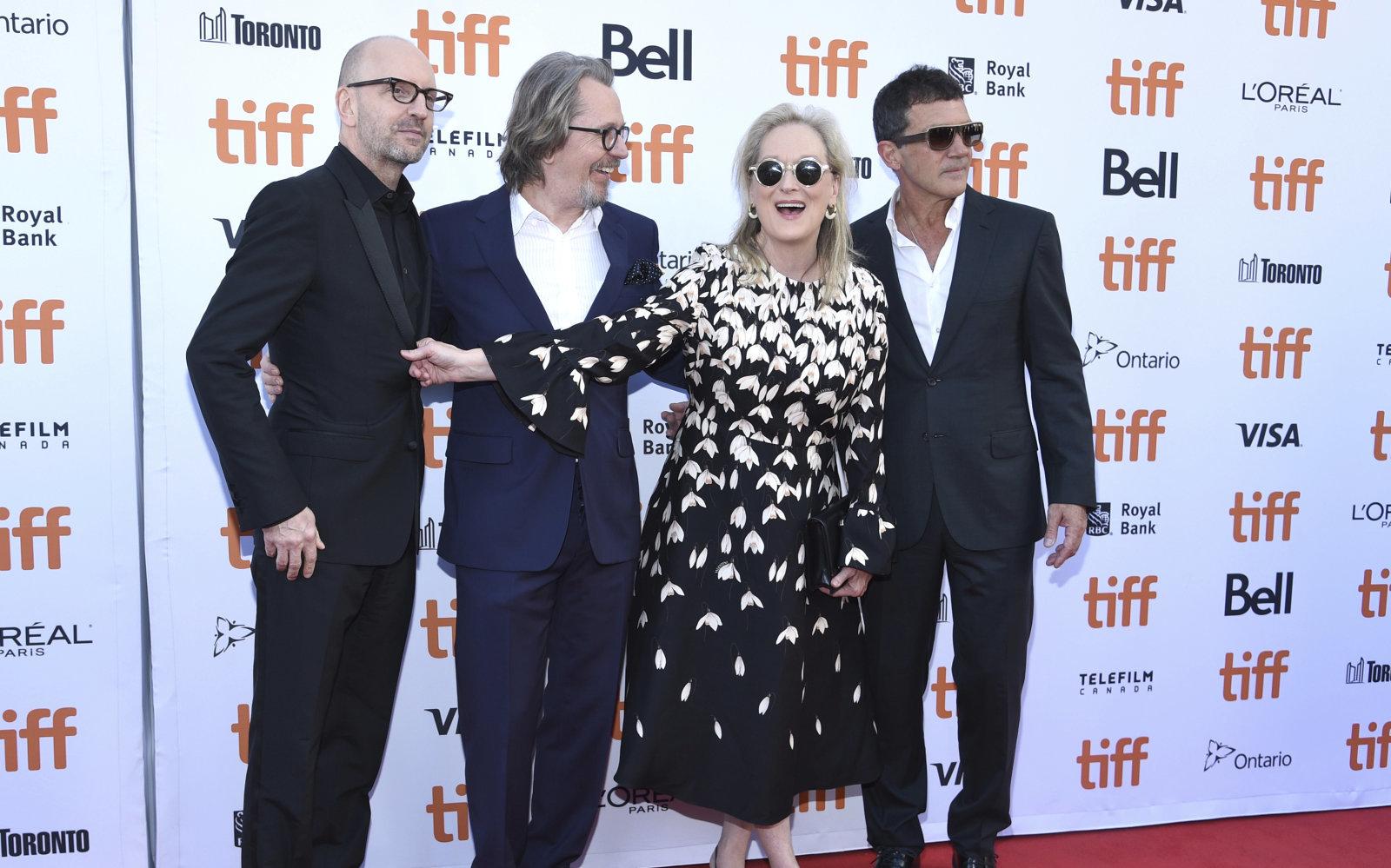 Los actores y el director