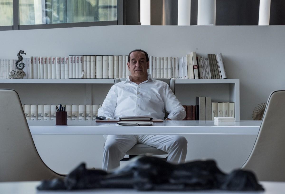 Fotograma del actor que interpreta a Silvio