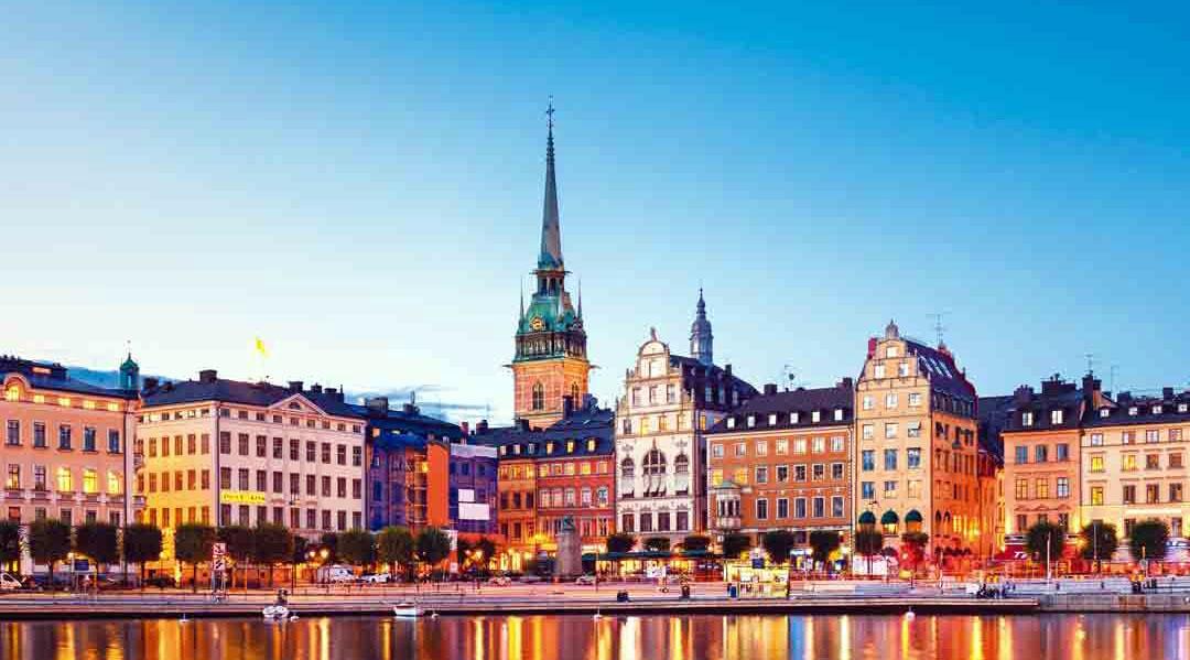 Vista tomada en Suecia