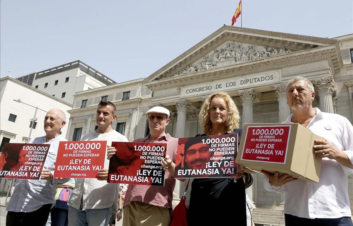 Firmas recogidas Ley Eutanasia