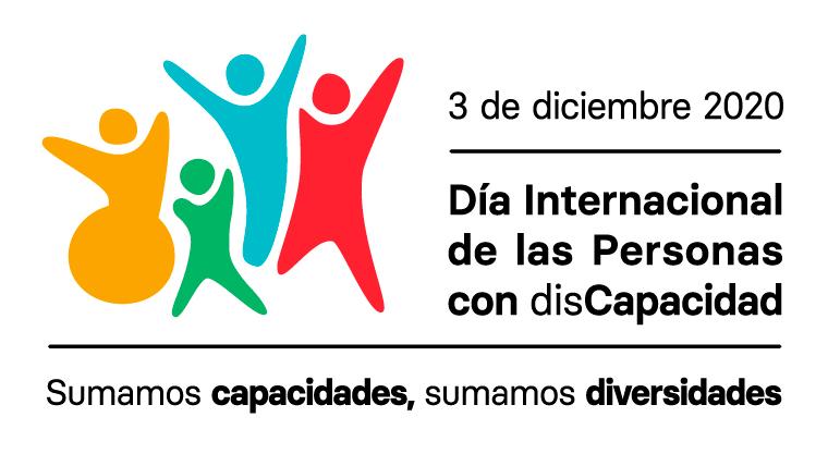 Cartel conmemorativo del Dia internacional de las personas con discapacidad