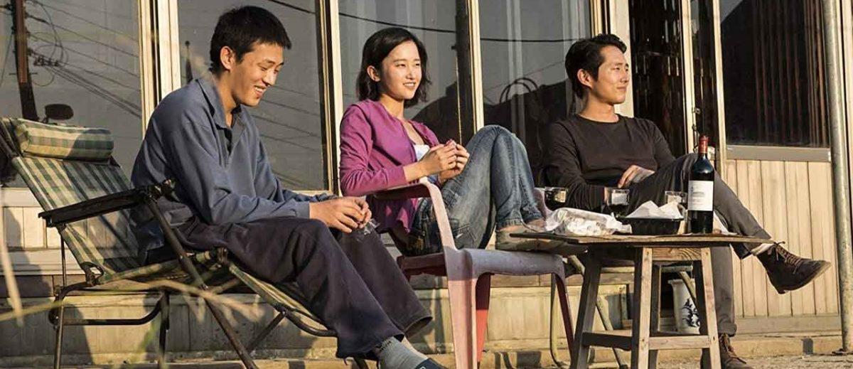 Fotograma con los tres protagonistas del film.